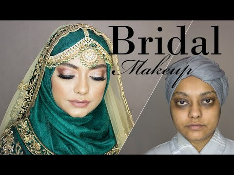 Bridal Makeover for Hyper Pigmented Skin   Fatima Sajid