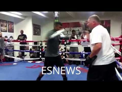 WBC Champ Badou Jack In Camp For Lucian Bute Mayweather Boxing Club