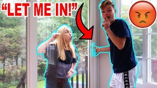 Locking my MOM Out of the House! *BAD IDEA*