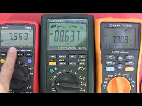 Multimeter Review /  buyers guide: Part 2 - UNI-T UT61E