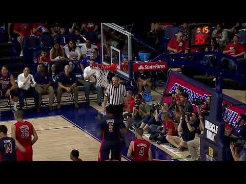 McDonald's Red-Blue Game Video Highlights