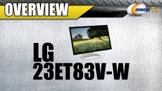 Newegg TV_ LG 23 10-point Touchscreen Monitor Overview