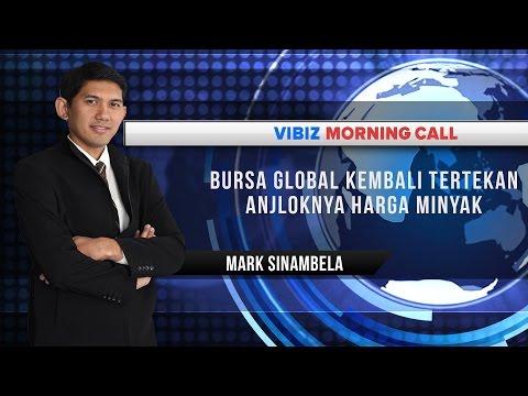 Bursa Global Kembali Tertekan Anjloknya Harga Minyak, Vibiznews 14 Desember 2015