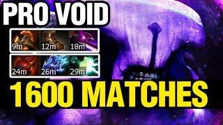 PRO FACELESS VOID - 1600 MATCHES - Dota 2