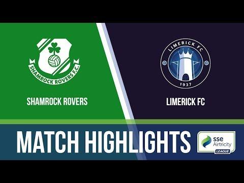 HIGHLIGHTS: Limerick 0-2 Shamrock Rovers