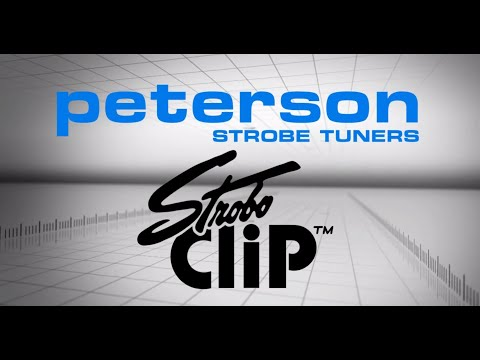 Peterson Tuners: StroboClip Clip-On Strobe Tuner (Official)
