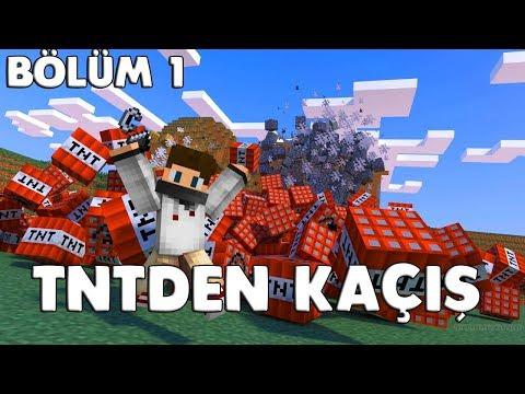 TNT'DEN KAÇIŞ - Minecraft Mini Games
