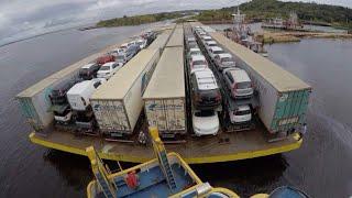 DE BELEM PARA MANAUS NO RIO AMAZONAS