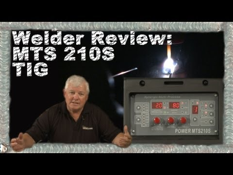 Welder Review Everlast MTS 210: Part 1 (TIG)  TIG Time