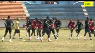 Deuxième séance d'entraînement des Lions à Madagascar