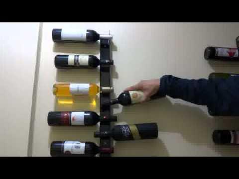 Suporte para garrafas de vinho