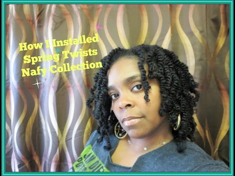3814: How I Did My Spring Twists/Nafy Collection Review