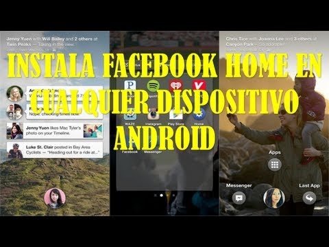 INSTALA FACEBOOK HOME PARA ANDROID APK