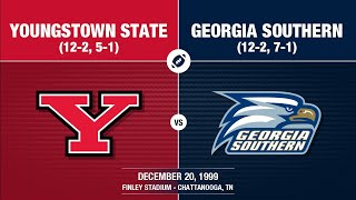 1999 I-AA National Championship - Georgia Southern vs Youngstown State