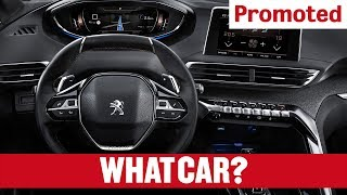 Promoted: The PEUGEOT 3008 SUV – i-Cockpit® | What Car?