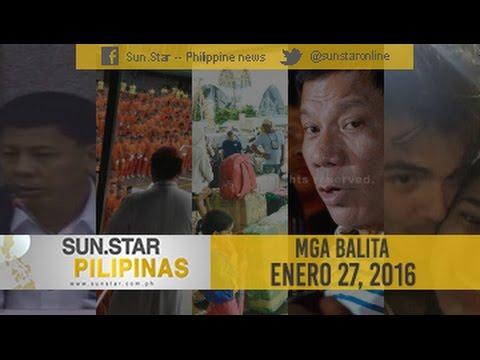 Sun.Star Pilipinas January 27, 2016