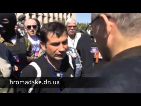 Ходорковский в Донецке на баррикадах