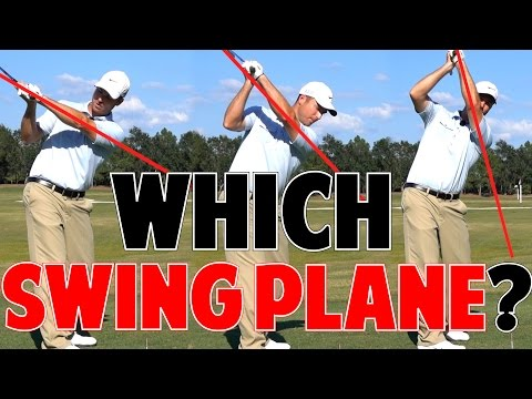 One Plane Vs Two Plane Golf Swing   Which is Better?