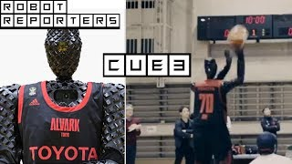 Toyota Cue3 Basketball Robot Shoots and Scores! Q3 2019