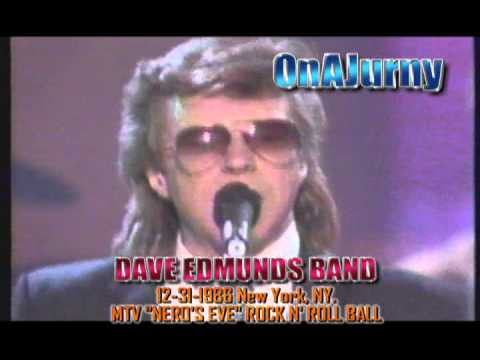 DAVE EDMUNDS BAND 1986 MTV NEW YEARS EVE