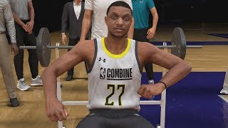 NBA 2K20 My Career EP 4 - Draft Combine!