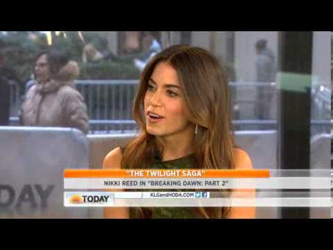 The Today Show Interview With Nikki Reed