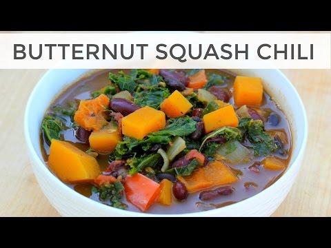 Butternut Squash Soup Recipe with Kale