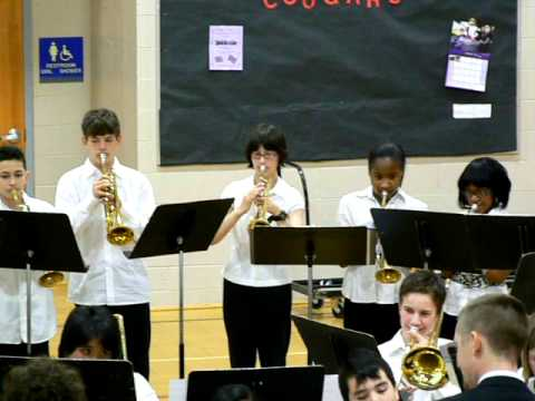 "North Whidbey Middle School Jazz Band ""The Girl From Ipanema"""
