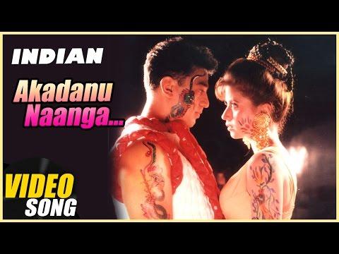 Akadanu Naanga Video Song | Indian Tamil Movie | Kamal Haasan | Urmila Matondkar | AR Rahman