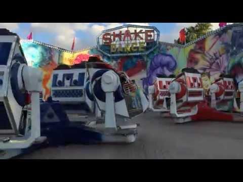 Аттракцион ВДНХ (ВВЦ) - Shake Dance (06.2014)
