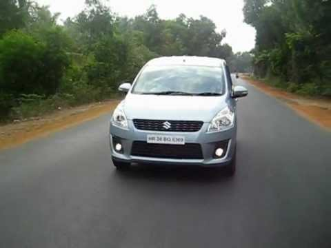 New Maruti Ertiga on Goa's roads