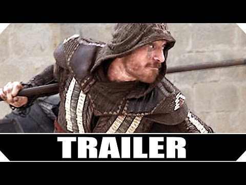 ASSASSIN'S CREED Movie TRAILER (Michael Fassbender - 2016)