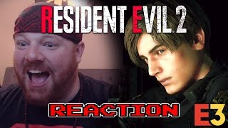 CAPCOM WINS E3!! - RESIDENT EVIL 2 REMAKE - KRIMSON KB REACTS