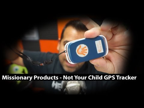 Not Your Child GPS Tracker - Missionary Products