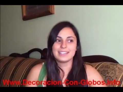 Video Curso Paso A Paso Para  Hacer Decoraciones Con Globos Para Fiestas, Baby S