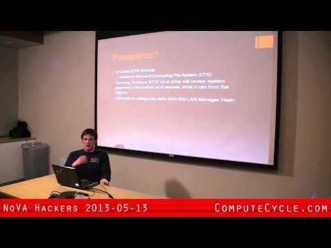 NoVA Hackers John Lankau - Encase Basics