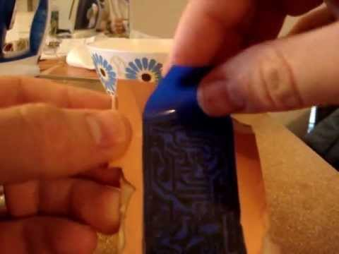 Make a PCB with Press & Peel blue transfer paper