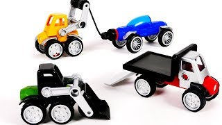Learn Colors with Vehicles Playset for Kids