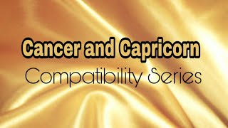 Cancer and Capricorn Compatibility