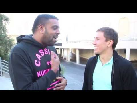 GENNADY GOLOVKIN OPEN TO FROCH FIGHT / TALKS MURRAY / MAYWEATHER v PACQUIAO- W/ KUGAN CASSIUS