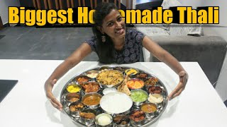 Preparing BIGGEST HOMEMADE NON VEG THALI/25 recipes in one plate/Biggest non veg menu