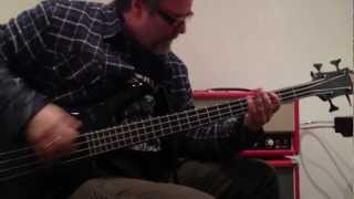 Billy Gould plays through the Red Witch Electronics for his new Zon signature series Bass.