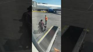 Delta Airlines Disables the Disabled... Loading Mobility Scooter