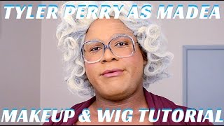 Tyler Perry as Madea Halloween Makeup & Wig Tutorial - mathias4makeup