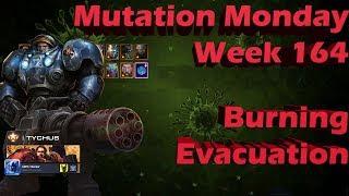 Early Mutation Tychus/Dehaka Burning Evacuation [EZPZ]