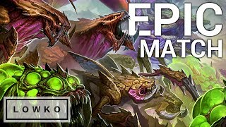 StarCraft 2: INSANE GAME - 6 Pro Gamers in 1 Archon Match!