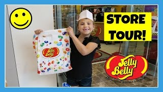 First ever 360 tour of Jelly Belly's California Factory