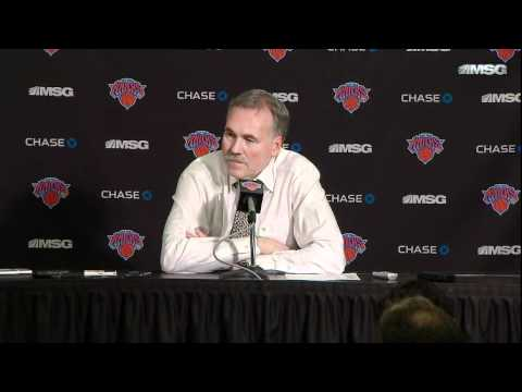 Mike D'Antoni Postgame Interview - Knicks Vs Cavaliers [02/29/12]