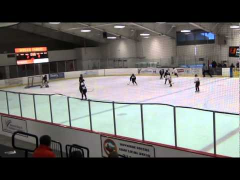 Amazing Youth Hockey Goal (squirt Outskates Pee Wee) video