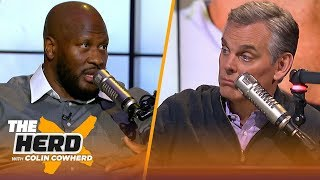 James Harrison defends Big Ben as a leader & weighs in on Rob Gronkowski retirement | NFL | THE HERD